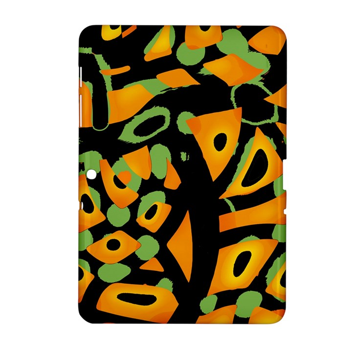 Abstract animal print Samsung Galaxy Tab 2 (10.1 ) P5100 Hardshell Case