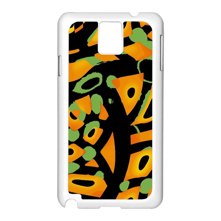 Abstract animal print Samsung Galaxy Note 3 N9005 Case (White)