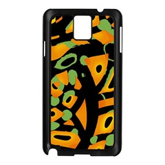 Abstract animal print Samsung Galaxy Note 3 N9005 Case (Black)