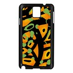 Abstract animal print Samsung Galaxy Note 3 N9005 Case (Black) Front