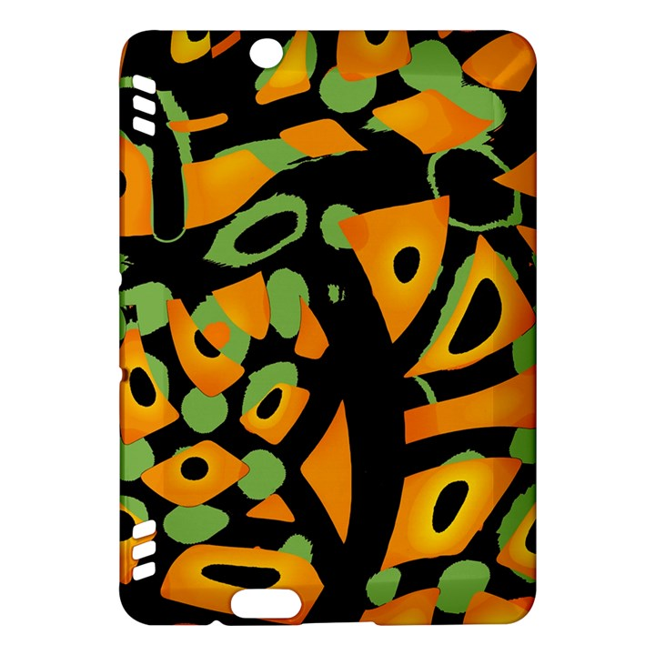 Abstract animal print Kindle Fire HDX Hardshell Case