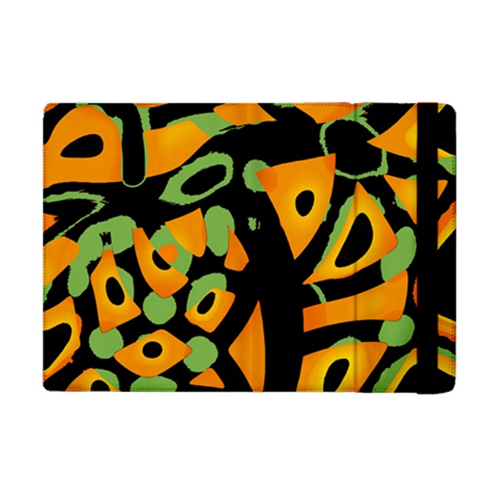 Abstract animal print iPad Mini 2 Flip Cases