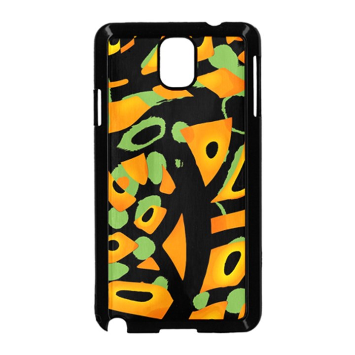 Abstract animal print Samsung Galaxy Note 3 Neo Hardshell Case (Black)