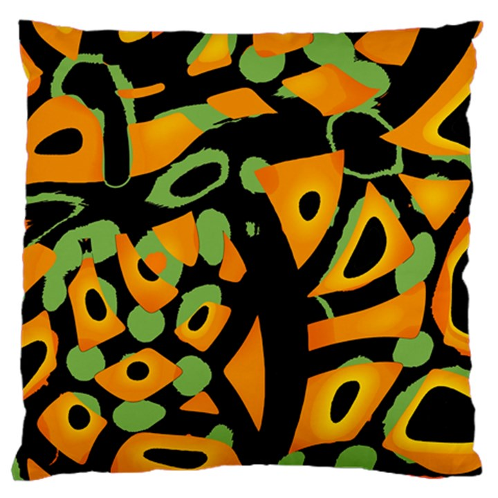 Abstract animal print Standard Flano Cushion Case (One Side)