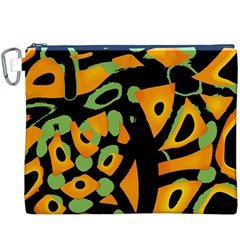 Abstract animal print Canvas Cosmetic Bag (XXXL)