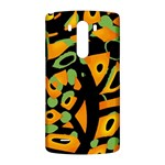 Abstract animal print LG G3 Back Case Front