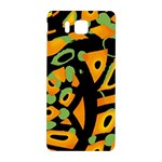 Abstract animal print Samsung Galaxy Alpha Hardshell Back Case Front