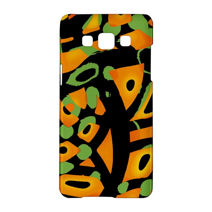 Abstract animal print Samsung Galaxy A5 Hardshell Case