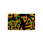 Abstract animal print Cosmetic Bag (XS) Back