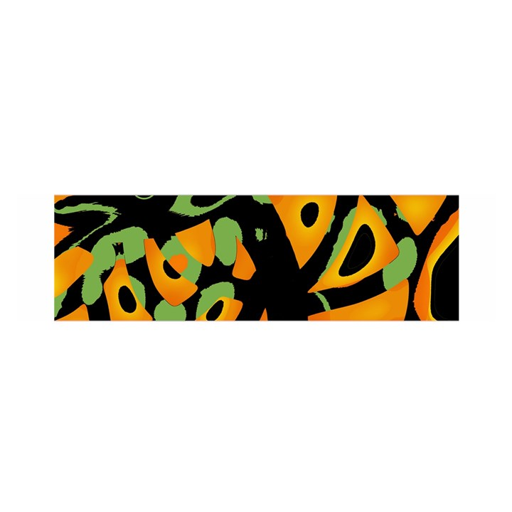 Abstract animal print Satin Scarf (Oblong)