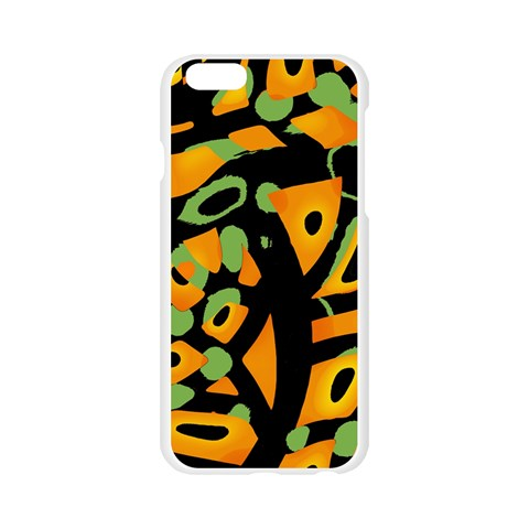 Abstract animal print Apple Seamless iPhone 6/6S Case (Transparent)