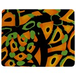 Abstract animal print Jigsaw Puzzle Photo Stand (Rectangular) Front