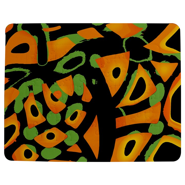 Abstract animal print Jigsaw Puzzle Photo Stand (Rectangular)