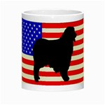 Australian Shepherd Silo Usa Flag Night Luminous Mugs Center