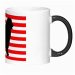 Australian Shepherd Silo Usa Flag Morph Mugs Right