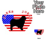 Australian Shepherd Silo Usa Flag Playing Cards 54 (Heart)  Front - Joker2