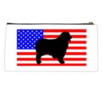 Australian Shepherd Silo Usa Flag Pencil Cases Back