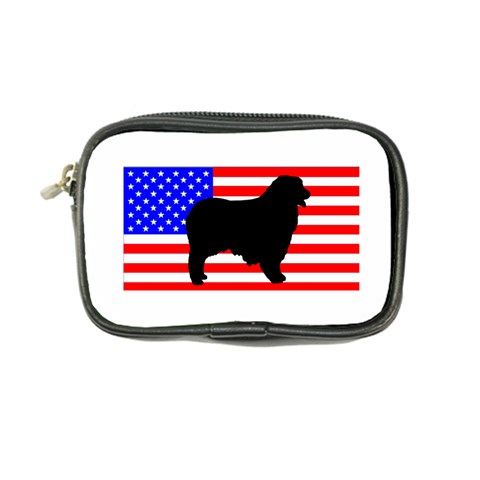 Australian Shepherd Silo Usa Flag Coin Purse