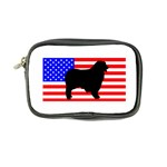 Australian Shepherd Silo Usa Flag Coin Purse Front