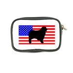 Australian Shepherd Silo Usa Flag Coin Purse Back