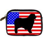 Australian Shepherd Silo Usa Flag Digital Camera Cases Front
