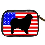 Australian Shepherd Silo Usa Flag Digital Camera Cases Back