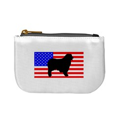 Australian Shepherd Silo Usa Flag Mini Coin Purses