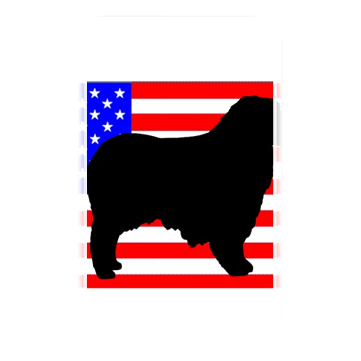Australian Shepherd Silo Usa Flag Memory Card Reader