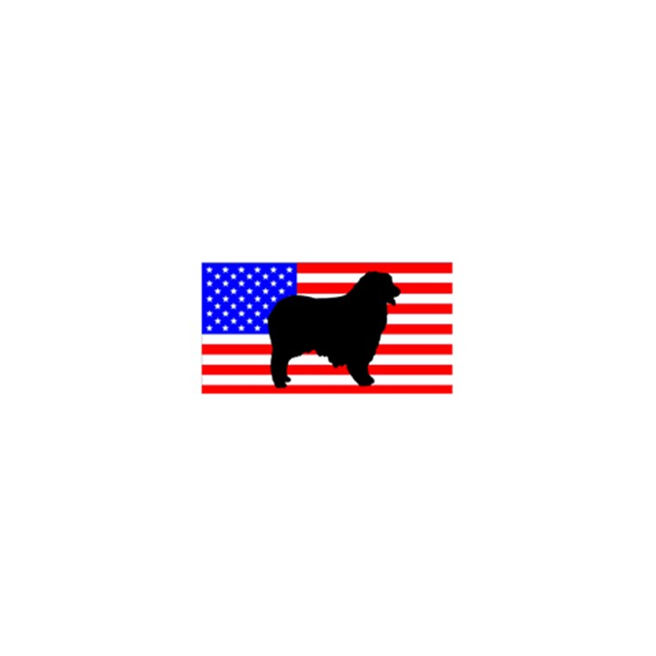 Australian Shepherd Silo Usa Flag 5.5  x 8.5  Notebooks
