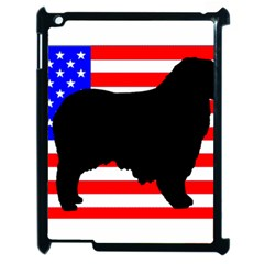 Australian Shepherd Silo Usa Flag Apple Ipad 2 Case (black)