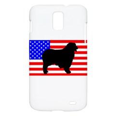 Australian Shepherd Silo Usa Flag Samsung Galaxy S II Skyrocket Hardshell Case