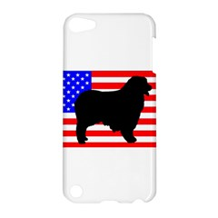 Australian Shepherd Silo Usa Flag Apple iPod Touch 5 Hardshell Case
