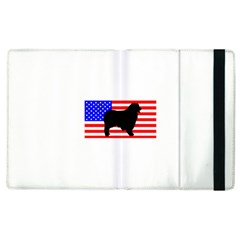 Australian Shepherd Silo Usa Flag Apple iPad 3/4 Flip Case