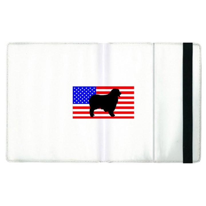 Australian Shepherd Silo Usa Flag Apple iPad 3/4 Flip Case