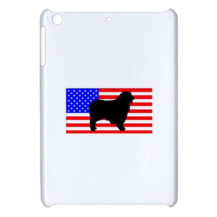 Australian Shepherd Silo Usa Flag Apple iPad Mini Hardshell Case