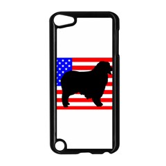Australian Shepherd Silo Usa Flag Apple iPod Touch 5 Case (Black)