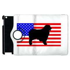 Australian Shepherd Silo Usa Flag Apple iPad 2 Flip 360 Case
