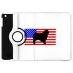 Australian Shepherd Silo Usa Flag Apple iPad Mini Flip 360 Case Front