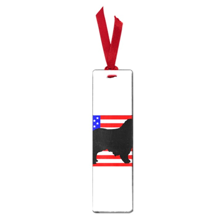 Australian Shepherd Silo Usa Flag Small Book Marks