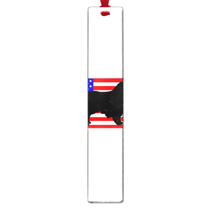 Australian Shepherd Silo Usa Flag Large Book Marks