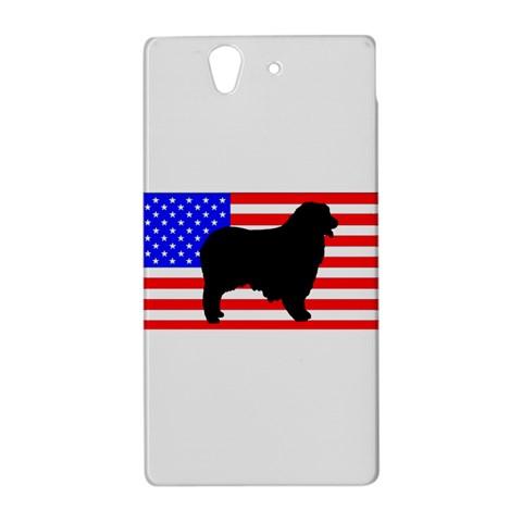 Australian Shepherd Silo Usa Flag Sony Xperia Z