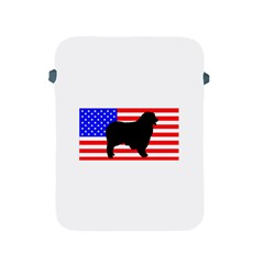 Australian Shepherd Silo Usa Flag Apple iPad 2/3/4 Protective Soft Cases