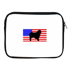 Australian Shepherd Silo Usa Flag Apple iPad 2/3/4 Zipper Cases