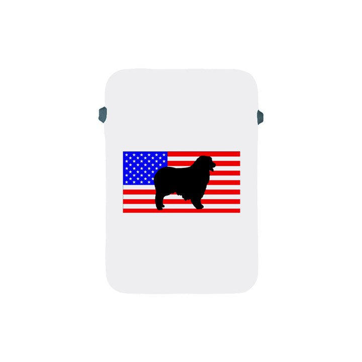 Australian Shepherd Silo Usa Flag Apple iPad Mini Protective Soft Cases