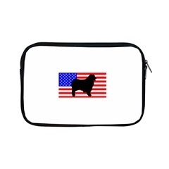 Australian Shepherd Silo Usa Flag Apple iPad Mini Zipper Cases