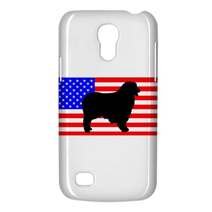 Australian Shepherd Silo Usa Flag Galaxy S4 Mini