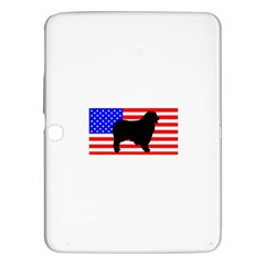 Australian Shepherd Silo Usa Flag Samsung Galaxy Tab 3 (10 1 ) P5200 Hardshell Case