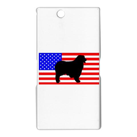 Australian Shepherd Silo Usa Flag Sony Xperia Z Ultra