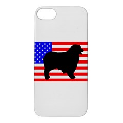 Australian Shepherd Silo Usa Flag Apple iPhone 5S/ SE Hardshell Case