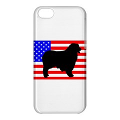 Australian Shepherd Silo Usa Flag Apple iPhone 5C Hardshell Case